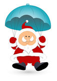 Santa Claus Vector Illustration Stock Images