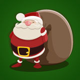 Santa Claus vector illustration Royalty Free Stock Photo