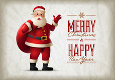 Santa Claus Vector Illustration Royalty Free Stock Photos
