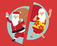 Santa Claus vector Stock Photos