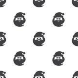 Santa claus, vector seamless pattern Royalty Free Stock Images