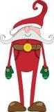 Santa Claus-Vektorbild Lizenzfreie Stockfotografie