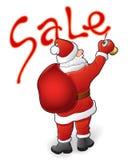 Santa Claus, vente illustration stock