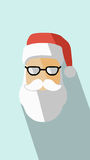 Santa Claus Vetora Icon Imagens de Stock Royalty Free