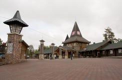 Santa Claus Village, Arctic Circle. royalty free stock images