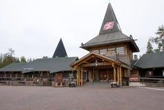 Santa Claus Village, Arctic Circle. stock photos