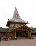 Santa Claus Village, Arctic Circle. royalty free stock photo