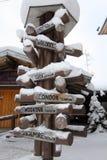 Santa Claus Village Finland Arkivbilder