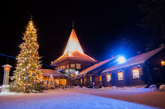Santa Claus' Village in Finland Royalty Free Stock Images