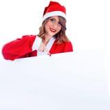 Santa Claus-vrouw Stock Foto's