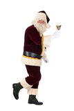 Santa Claus walking Stock Photography