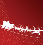 Santa claus wallpaper Royalty Free Stock Photo