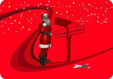 Santa Claus Was Here 2 Stock Photo