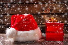 Santa claus was here Royalty Free Stock Photography