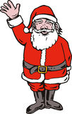 Santa Claus waving Royalty Free Stock Images