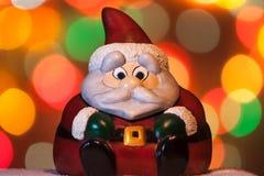 Santa Claus-Weihnachtsdekoration Lizenzfreie Stockfotografie