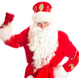 Santa Claus welcomes you. Stock Photo