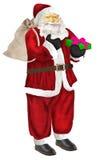 Santa Claus - wesoło boże narodzenia Obrazy Royalty Free