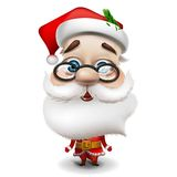 Santa Claus on white background Royalty Free Stock Image