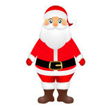 Santa Claus on white background vector Stock Photography