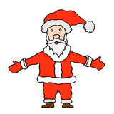 Santa claus on white background Stock Image