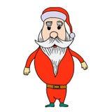 Santa claus on white background Stock Photography
