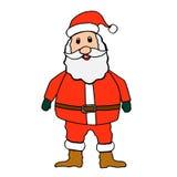 Santa claus on white background Royalty Free Stock Photo
