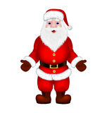 Santa Claus on a white background Stock Images