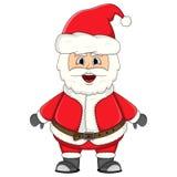Santa claus for christmas cartoon Royalty Free Stock Photos