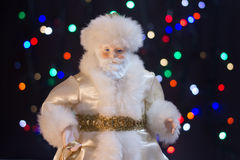 Santa Claus. Will bring many gifts to children Stock Photo