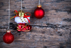 Santa Claus Winter Background Stock Photos