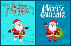 Santa Claus Winter Holidays Adventures Vector libre illustration