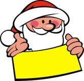 Santa claus and wish list Royalty Free Stock Photos