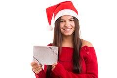 Santa Claus Woman Royalty Free Stock Images