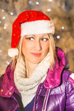 Santa Claus Woman Royalty Free Stock Photo