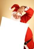 Santa claus wykaz Obraz Stock