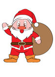 Santa Claus Xmas Fotografia de Stock Royalty Free