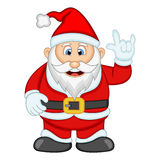 Santa Claus For Your Design Vector-Illustration Lizenzfreies Stockfoto