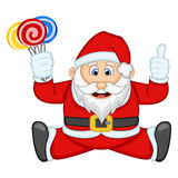 Santa Claus For Your Design Vector-Illustration Lizenzfreie Stockfotos