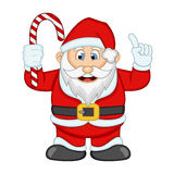 Santa Claus For Your Design Vector-Illustration Stockbild