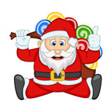 Santa Claus For Your Design Vector Illustration Stock Photography