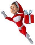 Santa claus zabawa royalty ilustracja