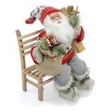 Santa claus zabawka Zdjęcia Royalty Free