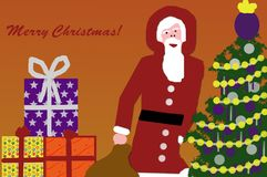 Santa Clause Image stock