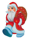 Santa Clause. Christmas  holiday celebrate december icon happy Royalty Free Stock Image