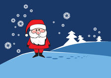 Santa Clause. Traditional Santa Clause with a smile Stock Photography