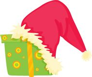 Santa clause cap Stock Images