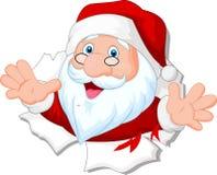 Santa Clause cartoon Stock Image