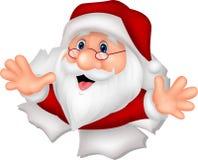 Santa Clause cartoon Stock Photos
