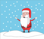 Santa clause chibi Stock Photography